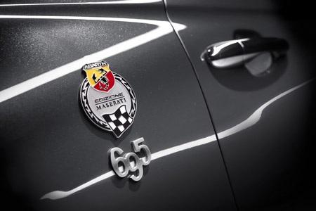 """Cùng với mẫu 595 """"50th Anniversary"""", Abarth cũng sẽ mang tới Frankfurt mẫu 695 Maserati"""